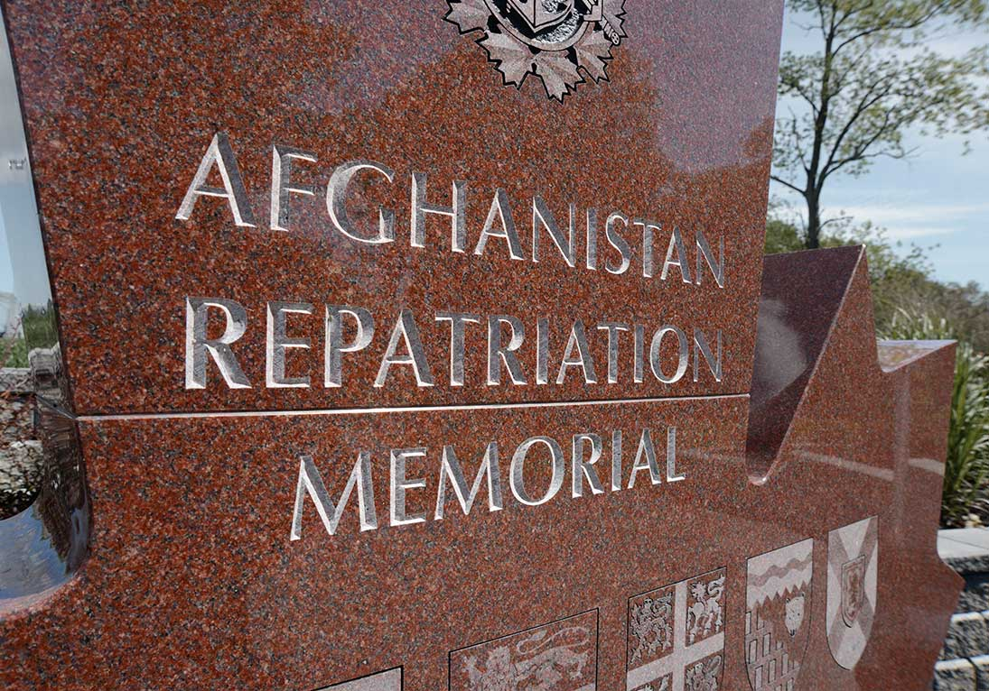 afghanistan repatriation memorial