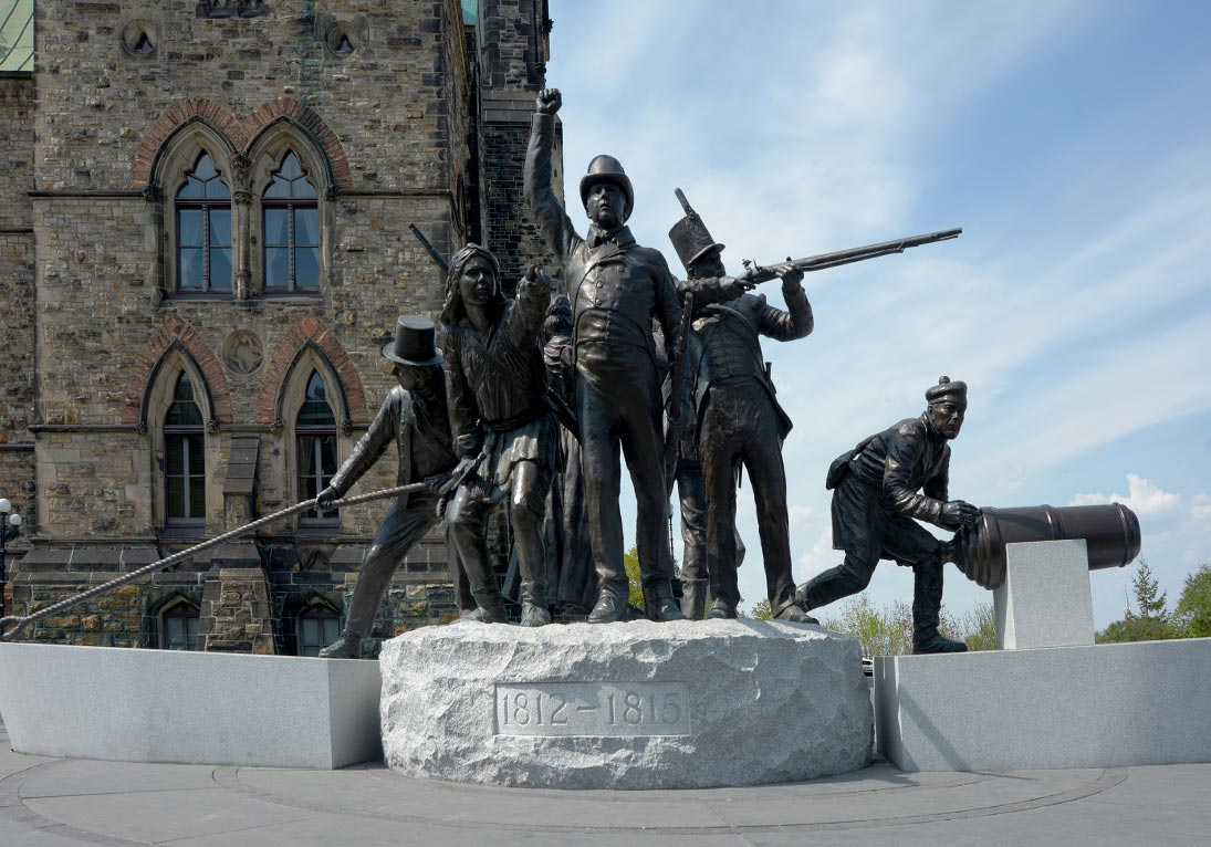 triumph through diversity war of 1812 memorial