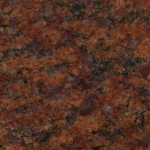Closeup of Red Granite