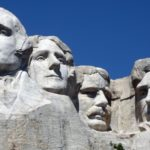 Mount Rushmore Made of Granite