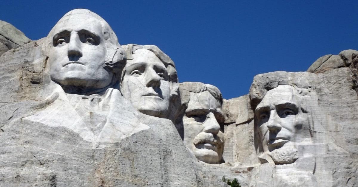 Mount Rushmore Made of Granite