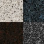 Four Granite Colors